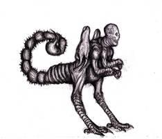 Scorpion Man by KingOvRats
