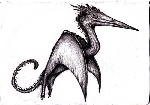 Conanopterus, Hyborian Pterosaur Dragon II/Dream by KingOvRats