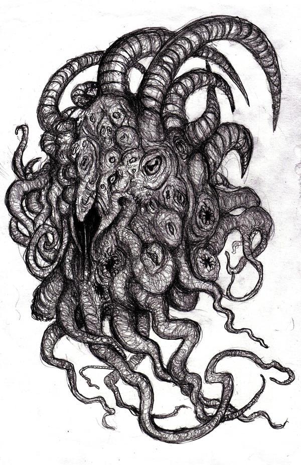 Shub Niggurath Goat Lovecraft - Shu...