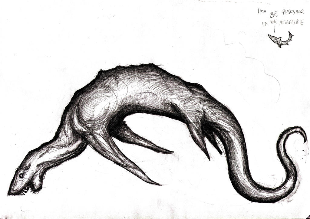 Line Drawing Monster : Zuiyo maru sea monster cryptid by kingovrats on deviantart