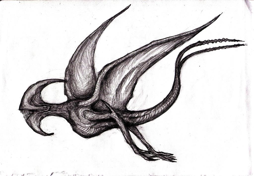 Pitch Black Creature by KingOvRats on DeviantArt