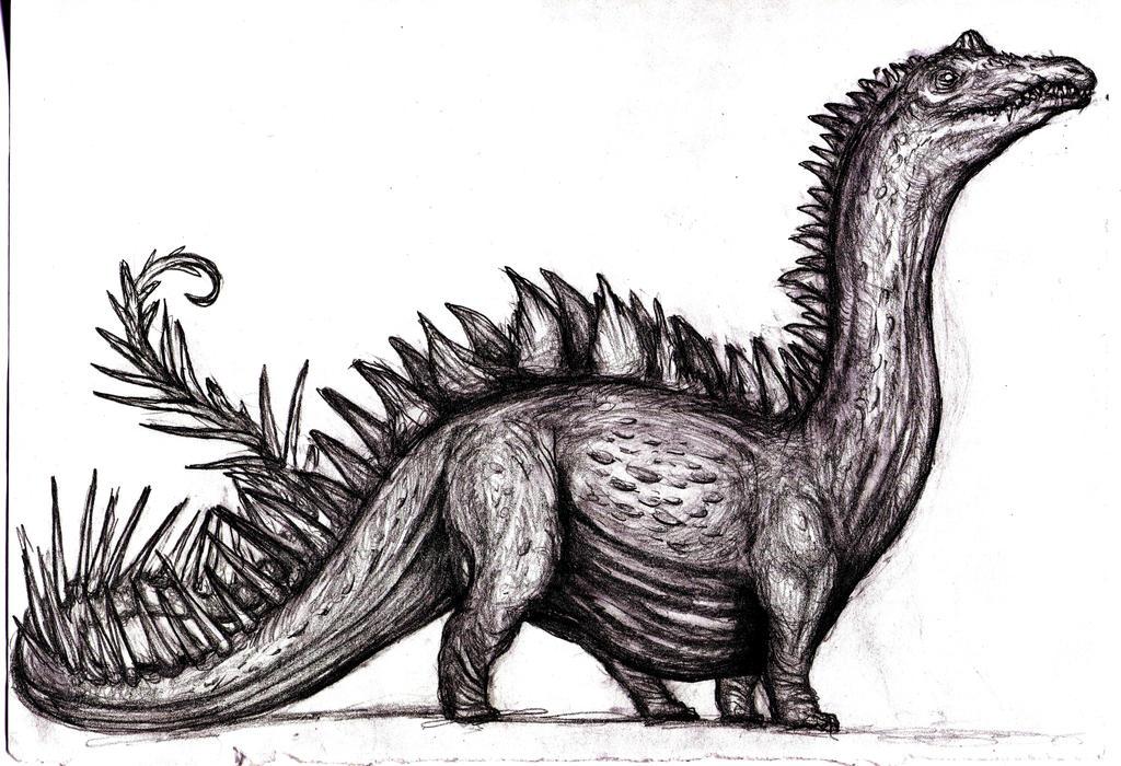 Conan - Hyborian Forest Dragon, Retrosaurus