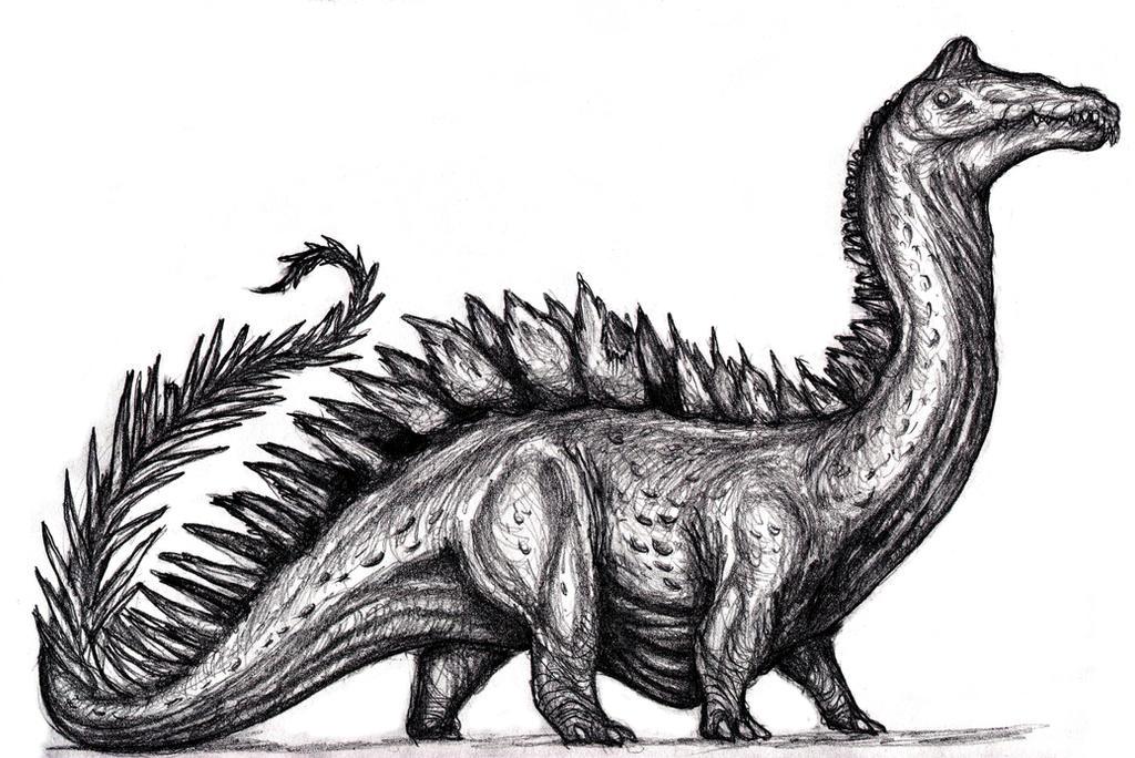 Conan - Forest Dragon, Retrosaurus III by KingOvRats