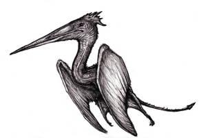Conanopterus, Hyborian Pterosaur Dragon (Redesign) by KingOvRats