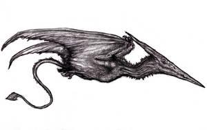 Terrordactylus Frazettae II by KingOvRats