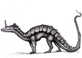 Sirrush, Mushussu, Ishtar Gate Dragon, (Dream) by KingOvRats