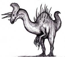 Dream Hybrid Dinosaur by KingOvRats