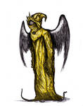 Chambers - King In Yellow (Hastur), Colored by KingOvRats