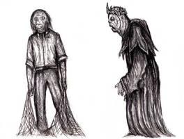 Lovecraft - Innsmouth Hybrids by KingOvRats