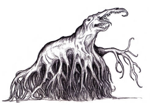 White Polypous Thing (Dream, Lovecraft)