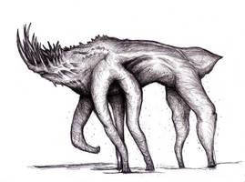 King - Mist Creature, Behemoth by KingOvRats