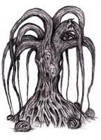 Hodgson - Carnivorous Tree by KingOvRats