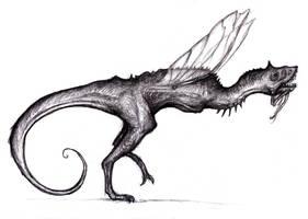 Insectosaurus by KingOvRats