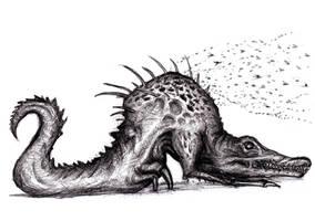 Darkest Dungeon - Crocodilian by KingOvRats