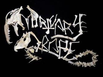 Mortuary Drape Logo (Bones) by KingOvRats
