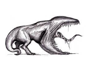 Strange Creature for Kingofkaiju by KingOvRats