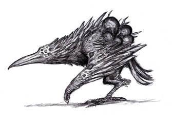 Darkest Dungeon - Shrieker by KingOvRats