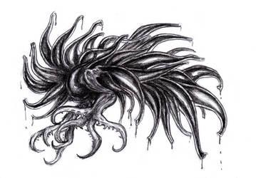 Cthulhu Mythos - Star Vampire by KingOvRats