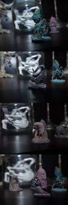 Microvores Miniatures - Painted by KingOvRats