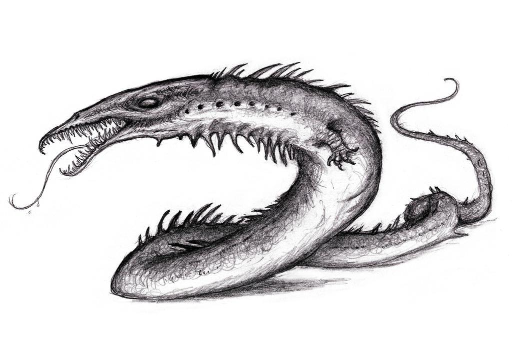 Lambton Worm,  Howard, Conan - Crawler by KingOvRats