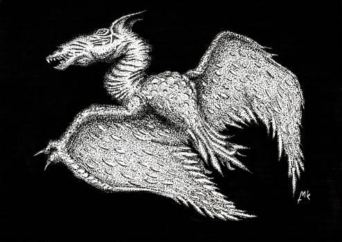 Lovecraft - Shantak Bird III