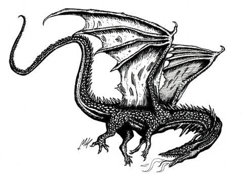 Winged Dragon XXII
