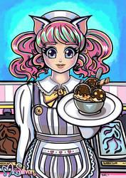 Kittie-Katt Waitress 2020
