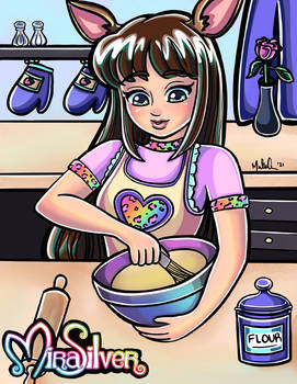 Fawn Baking.