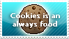 Cookies is an always food by dl33t