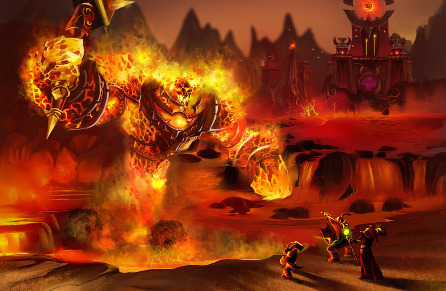heroes of the storm build concept ragnaros completed