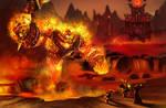Ragnaros the Firelord by Sendolarts