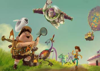 The Pixars by Sendolarts