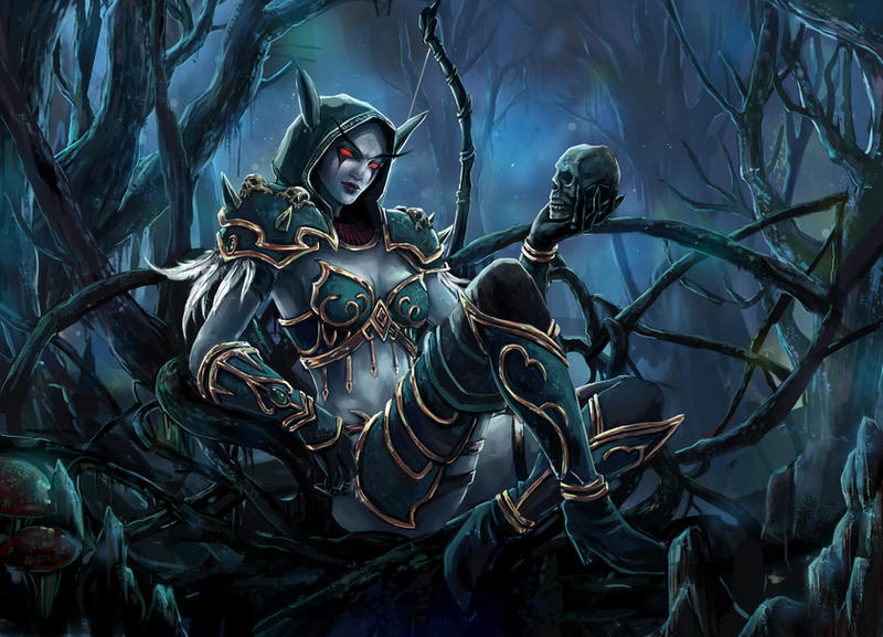 Sylvanas Windrunner by Sendolarts on DeviantArt