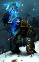 Fighting Dwarf by Sendolarts