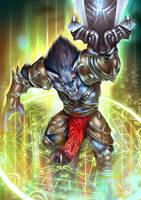 Werewolf by Sendolarts