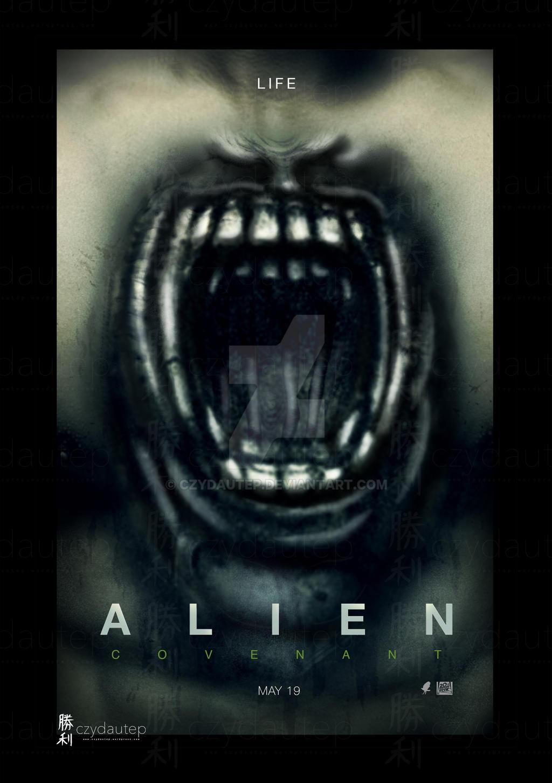 alien covenant run poster wallpaper-#30