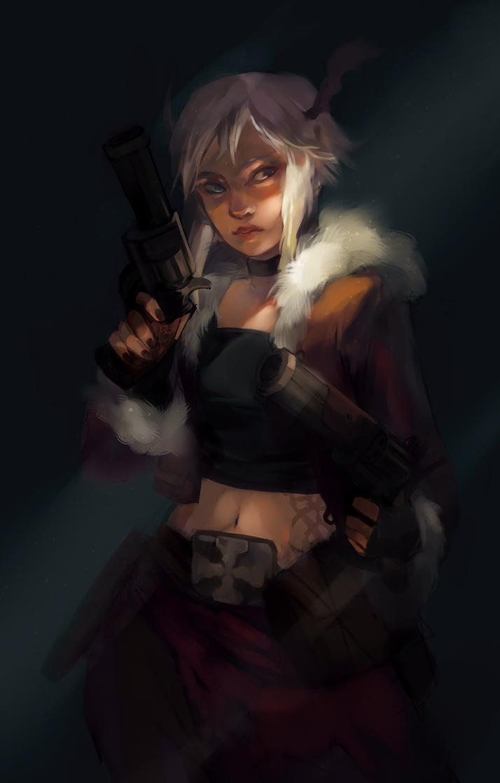 gunslinger by s05146