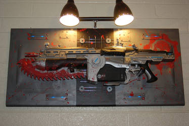 GOW2 Lancer Wall Display by Lunder-Rathryon