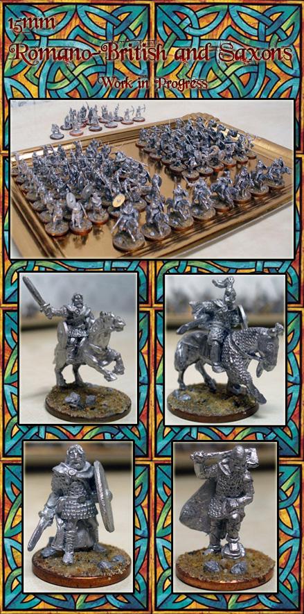 Brytenwalda: Dark Age Britain warbands 15mm_Romano_British_and_Saxons_by_Endakil