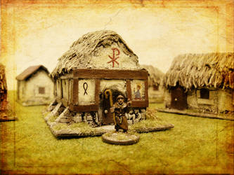 Dark Age christian priest by Endakil