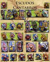 Cantabrian shields by Endakil