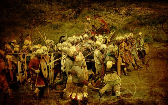 Romano-British warband