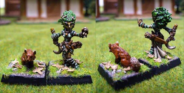 Lini, female gnome druid