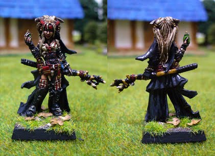 Feiya, iconic witch by Endakil