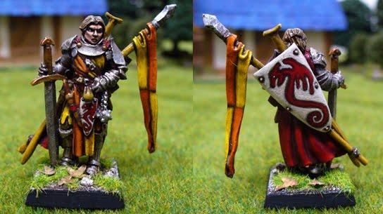 Alain, iconic cavalier by Endakil