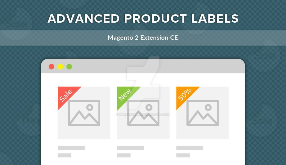 Advanced Product Labels - Magento 2 Extension by AnnaVictoria12