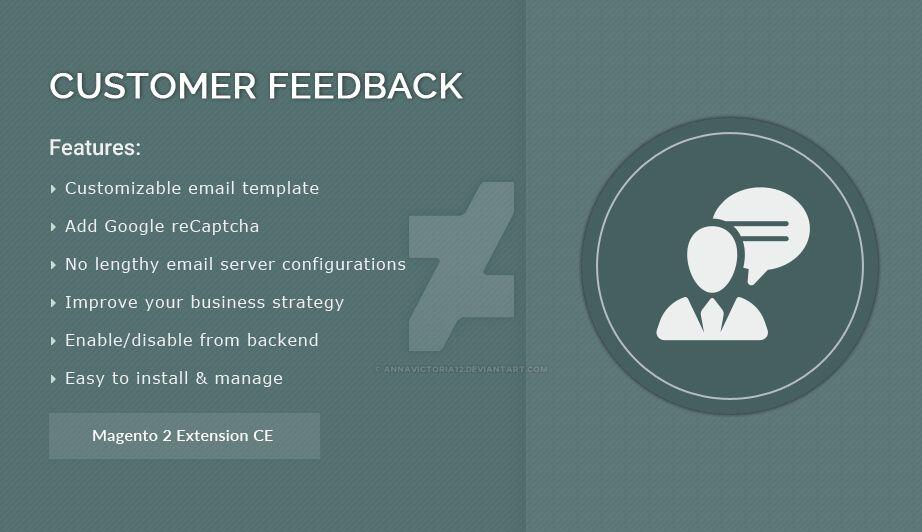 Customer Feedback  - Magento 2 Extension by AnnaVictoria12
