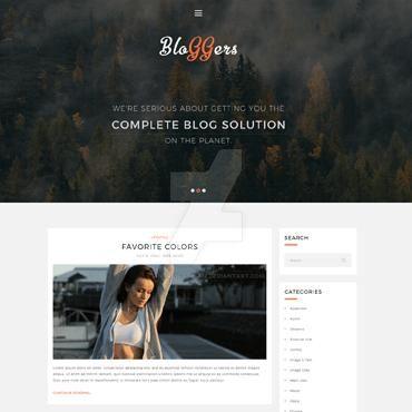 Bloggers - Free WordPress Theme by AnnaVictoria12