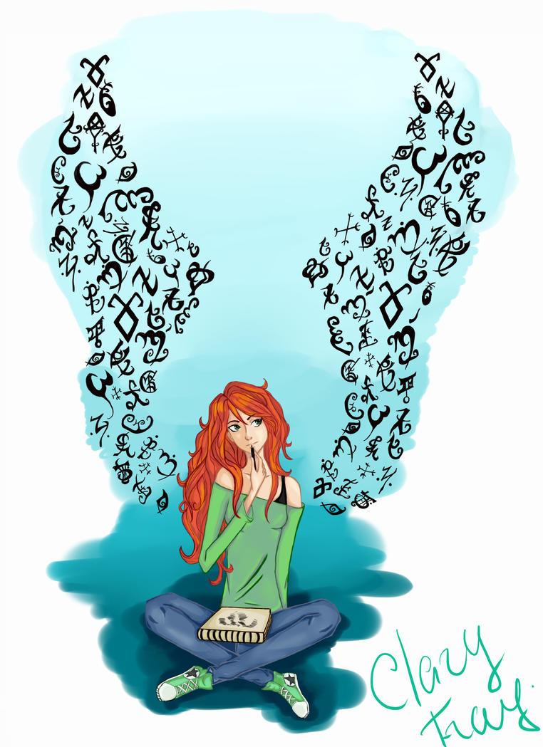 Clary Fray by VictoireJones on DeviantArt