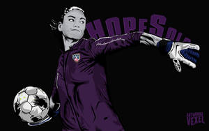 Hope Solo vector